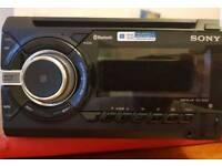 Sony Xplod double din stereo bluetooth, usb, aux, cd
