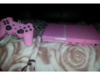 Playstation 2 in pink slim