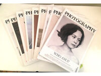 Nine Back Issues of The British Journal of Photography Magazine from 2014