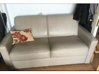 Italian Sofa Leather 2 seater