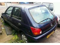 Ford fiesta 1999 1.25 ztec breaking for parts spares