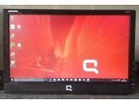 19 inch HP Compaq CQ1859s 19inch Widescreen LCD TFT VGA computer Screen Monitor with speakers