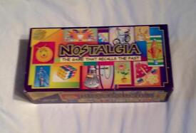 CHEATWELL GAMES NOSTALGIA GAME. THE GAME THAT RECALLS THE PAST. COMPLETE.