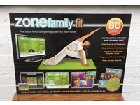 ZONE FAMILY FIT Personal Trainer for Whole Family..PLUG AND PLAY Console £10
