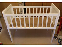 Mothercare Hyde Crib with mattress - very good condition