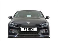 Car Number Plate: F3 GCH