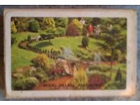 Pack Of Vintage 'Torquay Model Village' Souvenir Playing Cards (boxed)