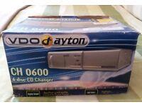 VDO Dayton 6 Disc CD Changer