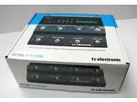Electric Guitar TC Electronic Nova System Multi-Effects Pedal