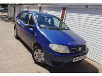 * 2004 Fiat Punto 1.2 Active Manual Low Miles *