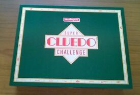 Brand New Vintage Super Cluedo Challenge Board Game