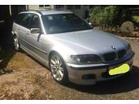 BMW E46 M SPORT TOURING ESTATE. BREAKING FOR PARTS