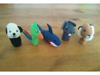 IKEA finger 5 puppets toy
