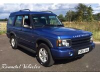 Discovery 2 Td5 GS 2002 Cornflower Blue metallic/grey interior Long Mot 2018 LOVELY SOLID BIG DISCO