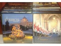 Classical World x 2 presentation boxes x 48 Cds and Booklets