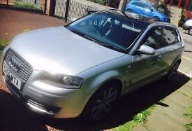 AUDI A3 SEMI AUTOMATIC WITH PANORAMIC SUNROOF + HIGH SPEC
