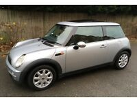 MINI COOPER PANORAMIC ELECTRIC TWIN SUNROOF LEATHER TRIM AIR CONDITIONING SERVICE HISTORY MINI ONE