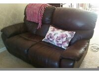 Luxury 2 seater electric recliner sofa
