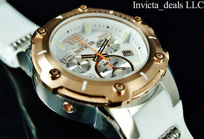 Invicta Men's 52mm SPEEDWAY VIPER Swiss Z60 Chrono MOP Dial Rose Tone SS -