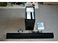 Sony Sound Bar & Wireless Subwoofer SNYHTCT780 £90