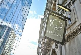 Bar & floor staff needed for busy city of London pub. Monday-Friday