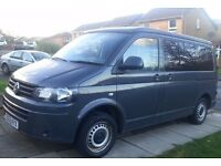 PROFESSIONALLY CONVERTED VW T5 CAMPERVAN 2013 - 76000 miles only