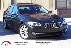 2013 BMW 5 Series 528i xDrive |AWD | Navigation | One Owner | Ca