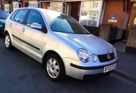 Volkswagen Polo 1.4 S 5dr Silver Low Mileage 2002 (02 reg), Drives Smooth Hatchback 61,300 miles