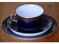 1x cup 1x saucer 1x plate
