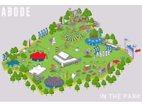 2 x Tickets for Abode in the park