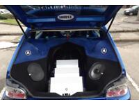 Saxo Show Car 7k worth JL Audio!!!