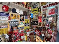 [WANTED] ANY type of vintage signs or packaging - good prices paid