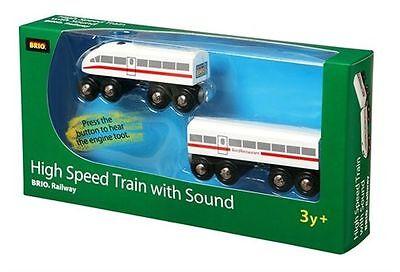 Brio 33418000 - Schnellzug mit Sound, Holz