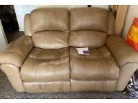 FREE TWO SEATER RECLINER SOFA