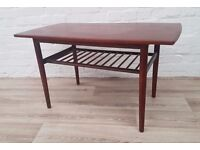 Danish Coffee Table (DELIVERY AVAILABLE FOR THIS ITEM OF FURNITURE)