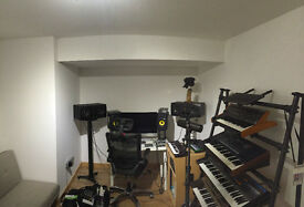 Music Recording Studio / Rehearsal Space Available Archway - N19