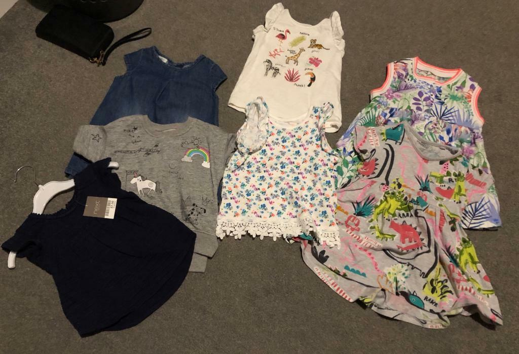 93b9c0533 NEXT BABY GIRL CLOTHES 6-9, 9-12, 12-18 months