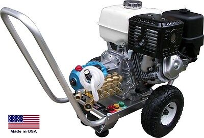Pressure Washer Portable - Cold Water - 2.5 Gpm 3300 Psi - 5.5 Hp Honda Eng Ari