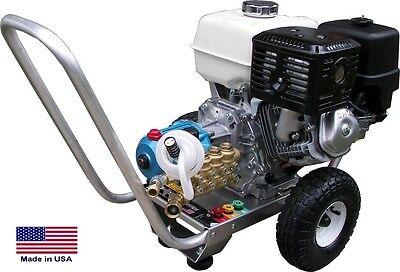 Pressure Washer Portable - Cold Water - 2.5 Gpm 3300 Psi - 5.5 Hp Honda Eng Ari