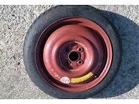honda jazz spare wheel 4x100 pdc 15 inch looks unused