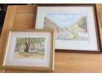 2x prints of Bath