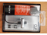 Sony ECMCS3 Multipurpose Clip Microphone and FREE Earphone (Recording, Interview, Production etc.)