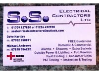 Electricians - NIC approved contractors