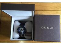 100% authentic Gucci I-Gucci black Digital watch YA114207