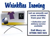 Ironing service Lisburn Collection Delivery