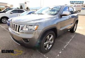 2011 Jeep Grand Cherokee Overland   Leather   Sunroof   Remote S