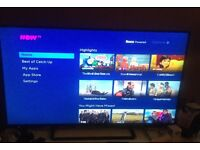 51 inch panasonic freeview enabled tv for sale good condition.