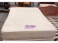 Bedstead 1024 pocket spring double mattress
