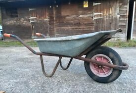 WHEELBARROW - Gardening Tools Outdoor Landscape Allotment, Garden, Farm, Equine Horse Stable Trolley