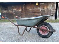 WHEELBARROW - Gardening Tools Outdoor Landscape Allotment, Garden, Farm, Equine Horse Stable Trolley